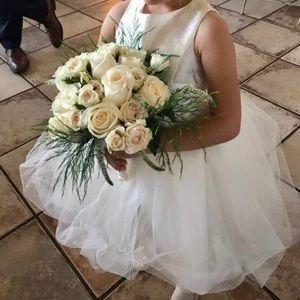 David's Bridal Flower girl dress size 3